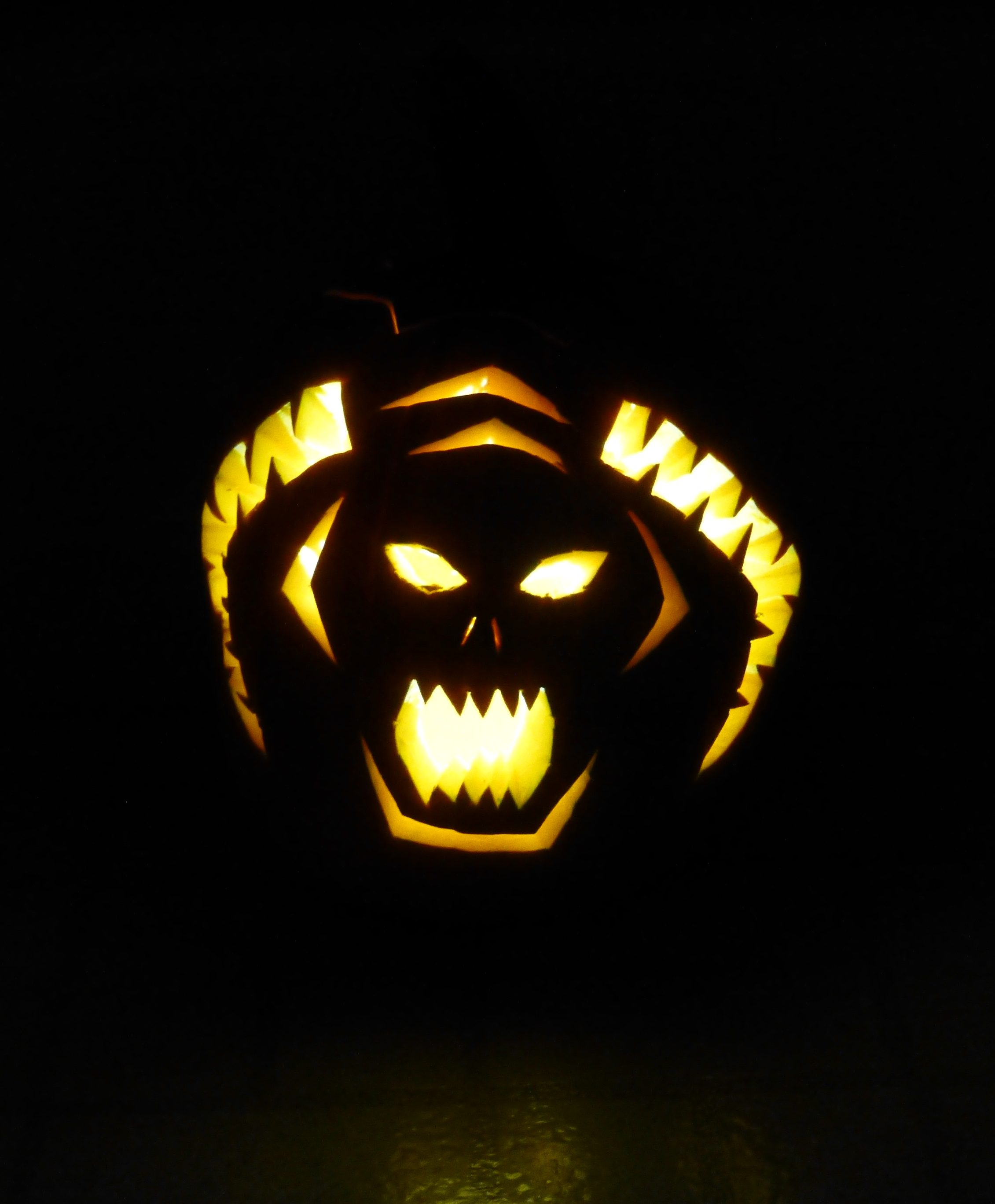 Lord of the Rings Balrog pumpkin