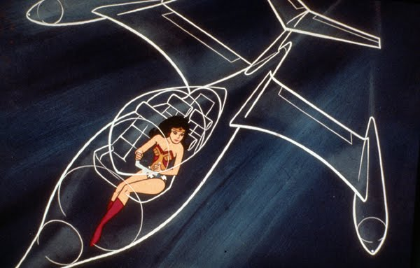 Wonder Woman's invisible jet