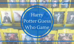 Harry Potter Guess Who Board Game
