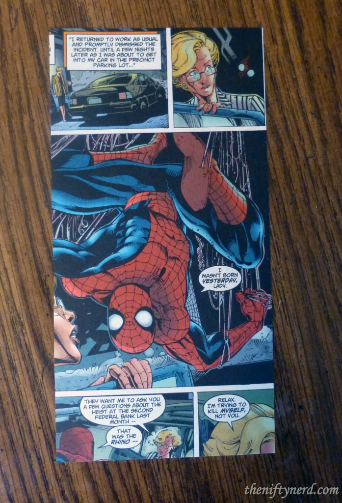 spiderman comic book page