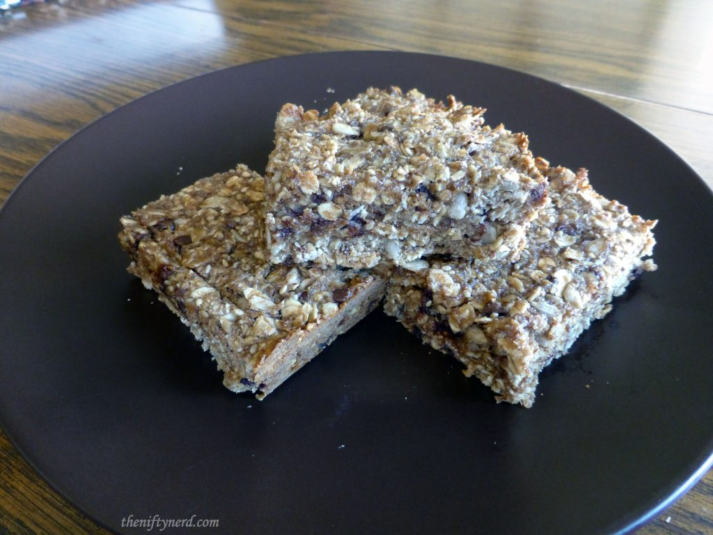 Homemade Power Bars to Fuel the Flash