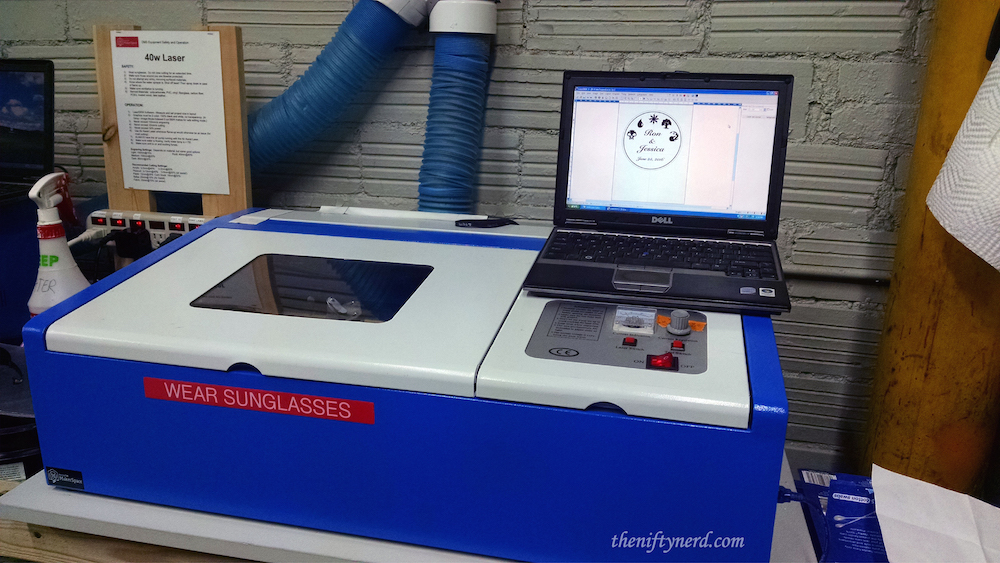 40w Laser at Makerspace