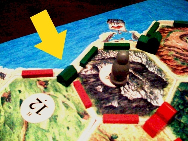 Getting cut-off in Settlers of Catan