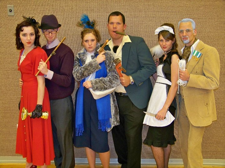 Board Game Clue group costume