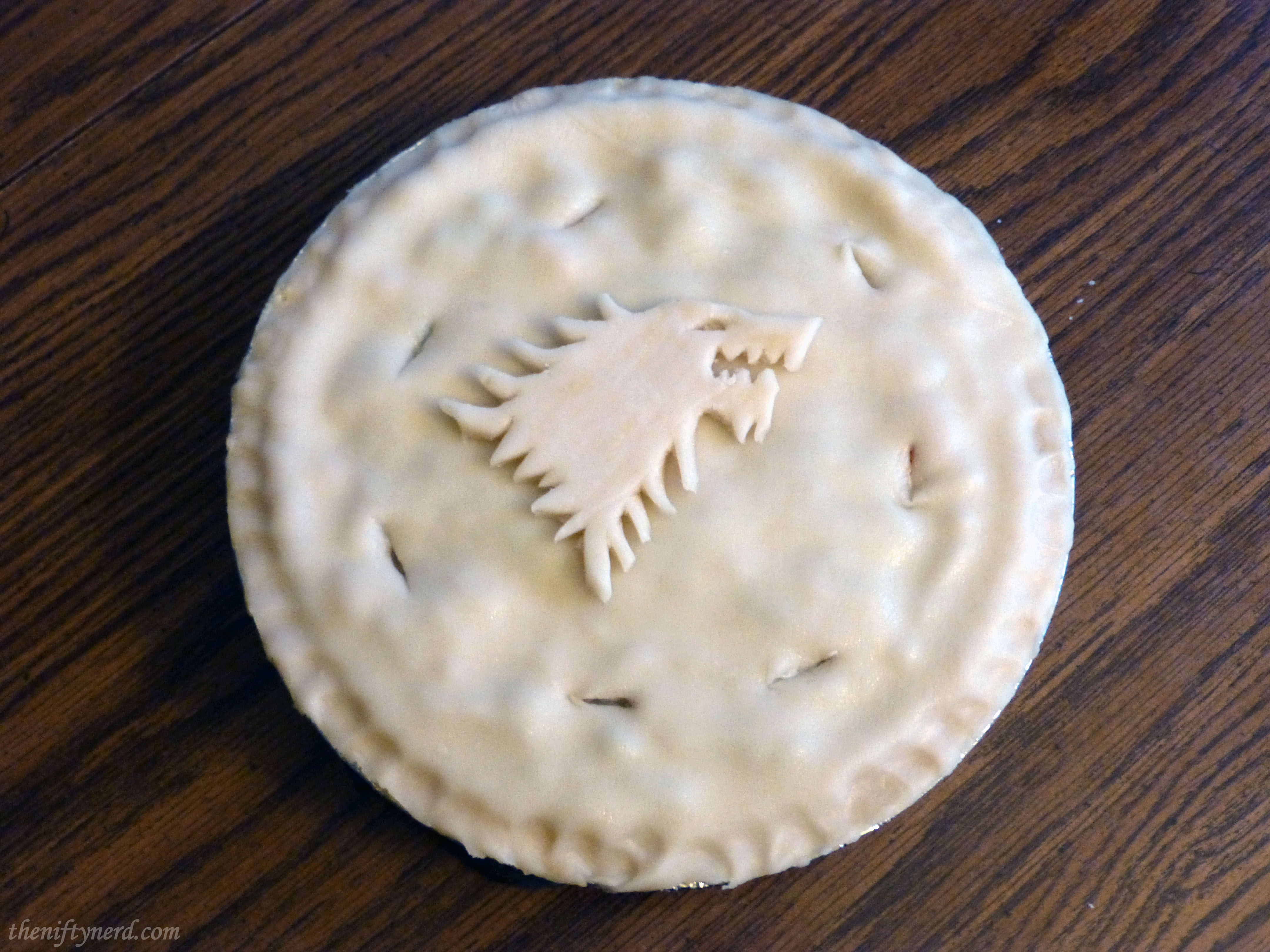 House Stark chicken pot pie