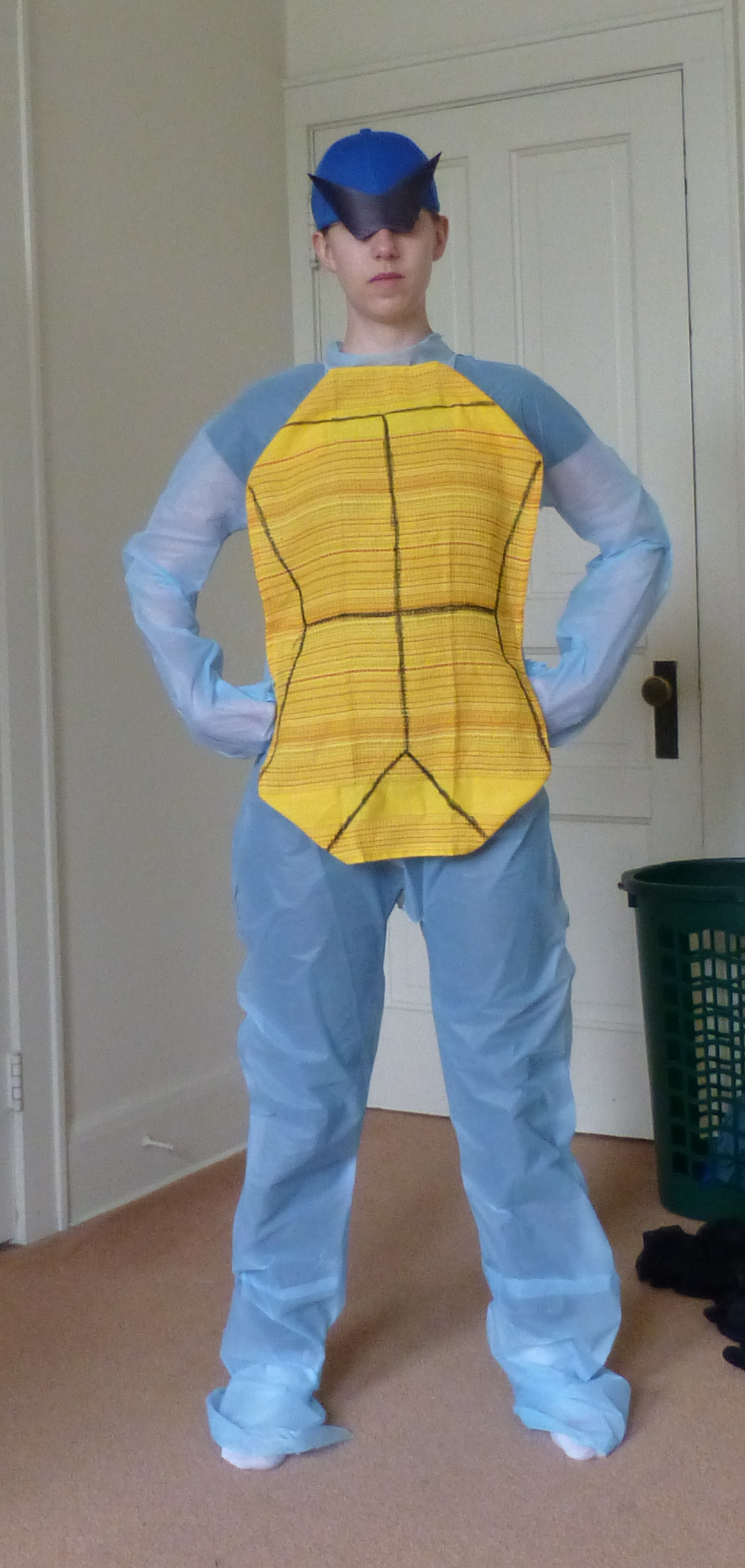 Squirtle Dollar Store cosplay challenge