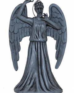 Weeping angel ornament