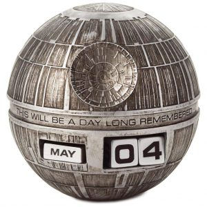 Star Wars Death Star perpetual calendar