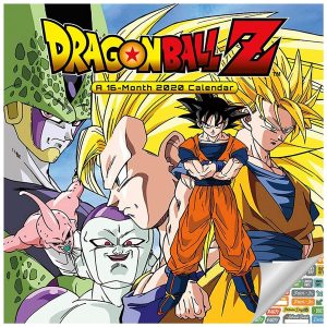 Dragon Ball Z calendar