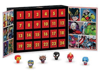 Funko! Marvel superhero advent calendar