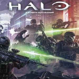 Halo video game calendar