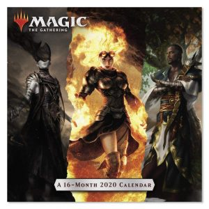 Magic the Gathering wall calendar