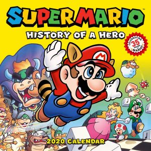 Super Mario History of Hero 2020 calendar
