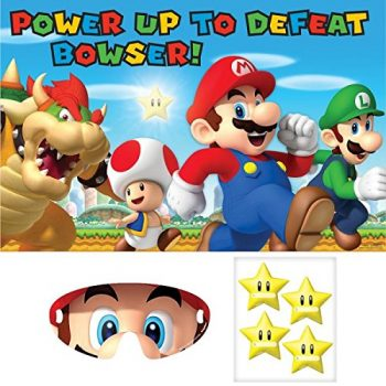 """pin the super star"" mario party game"