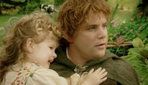 Samwise and Elanor