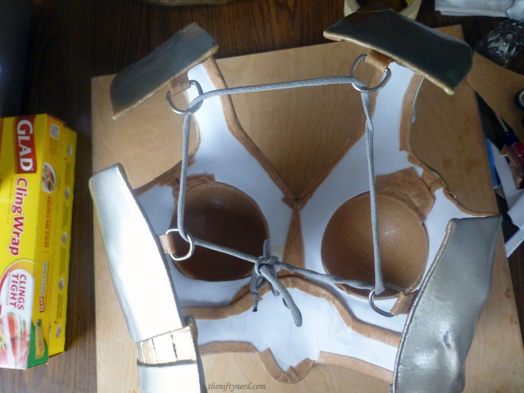 fastening worbla armor