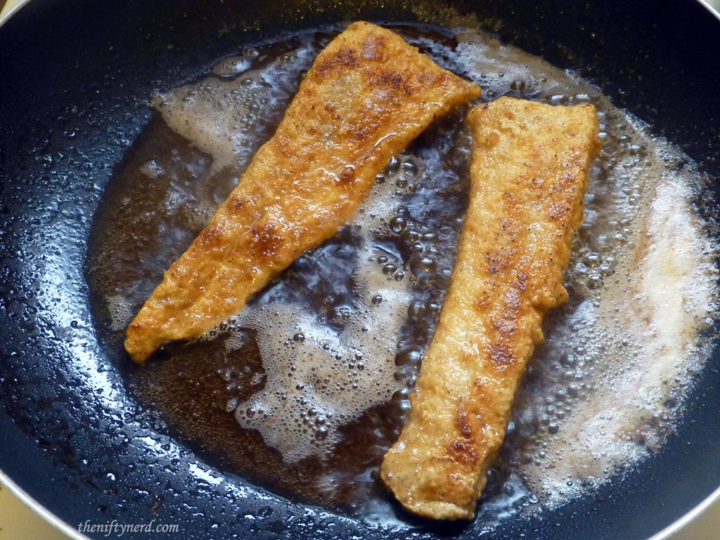 golden brown pan fried fish fillets