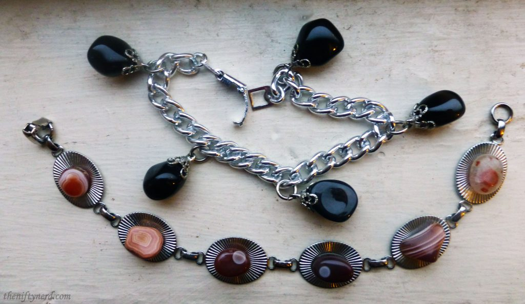 bracelets made from agates