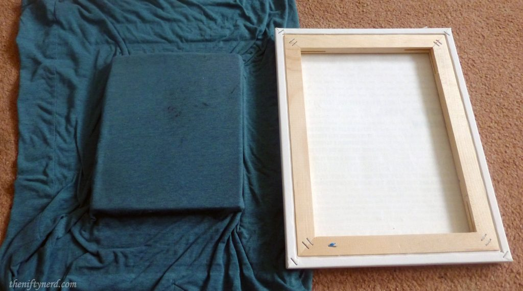 book base for the canvas frame for ironing