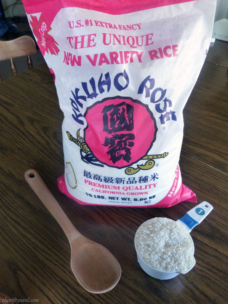 Kokuho Rose white rice