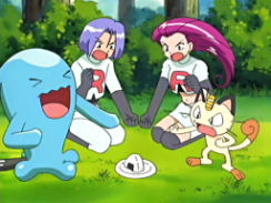 Team Rocket and onigiri