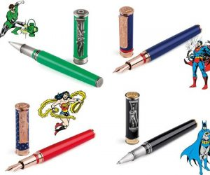DC comic pens
