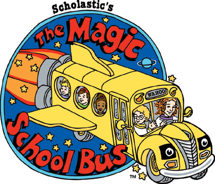 The Magic School Bus logo