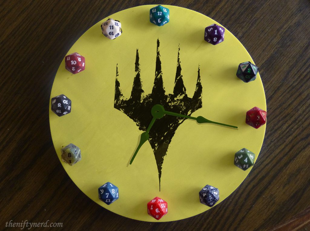 Magic the Gathering spind down counter dice and planeswalker clock