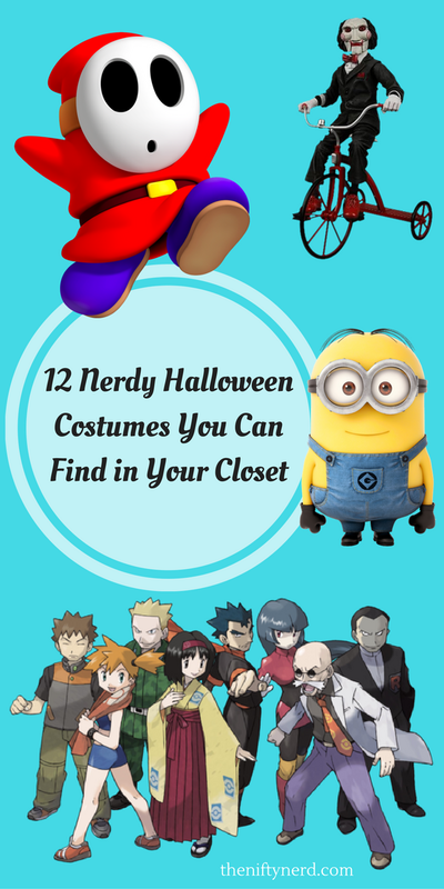 12 budget friendly nerdy halloween costumes you can find in your closet