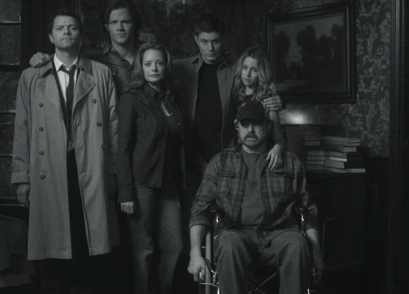 Supernatural group photo