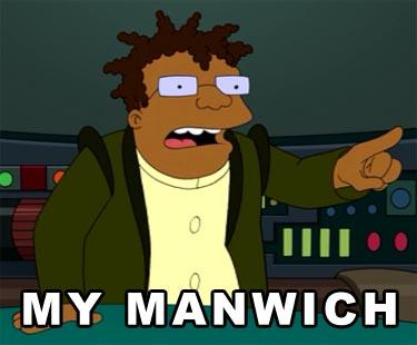 """Hermes says """"My Maniwch"""""""