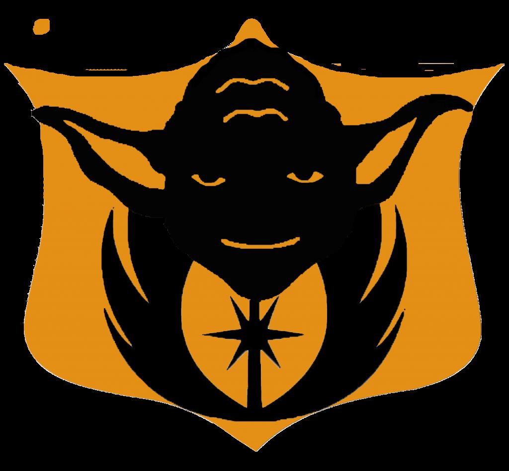 Jedi Master Yoda pumpkin carving template