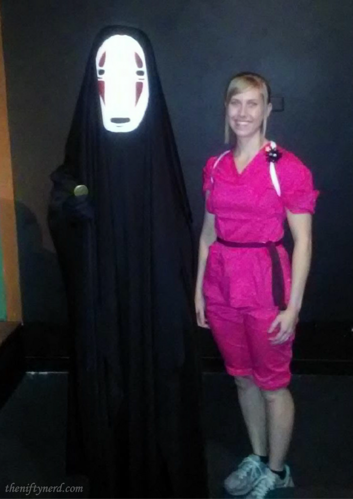 No Face and Chihiro costumes