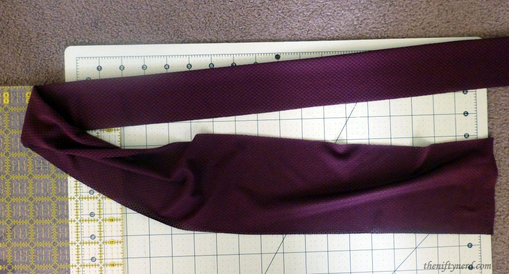 sewing a sash