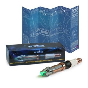 Doctor Who Sonic Screwdriver programmable remote control