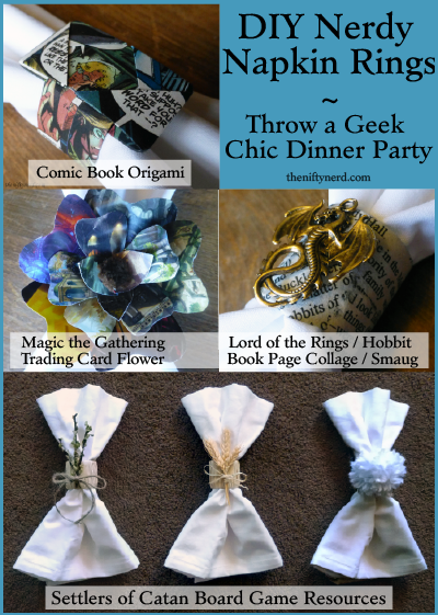 DIY Nerdy Napkin Ring Tutorial