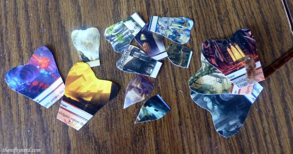 Magic the Gathering flower petals