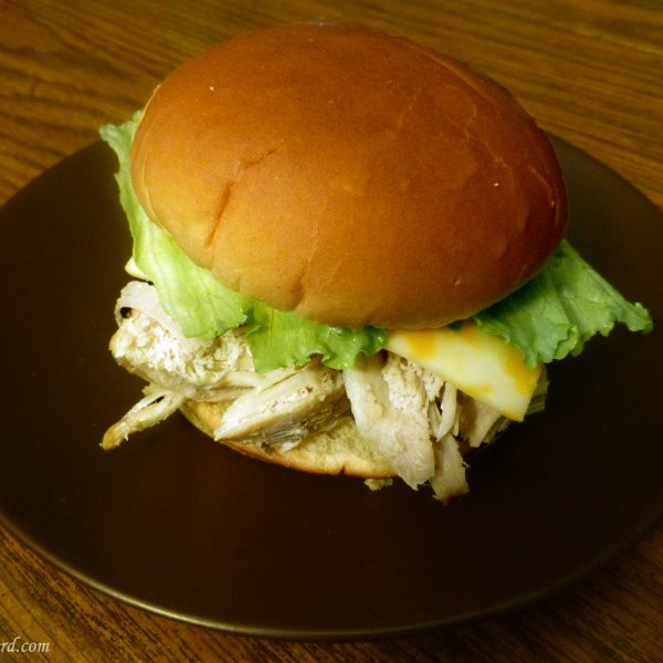 Supernatural turducken slammer sandwich