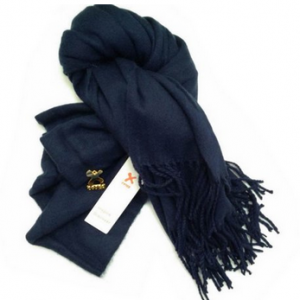 Sherlock Replica Blue Wool Scarf