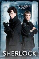 The Game Is On (221B Baker Street) 24×36 Poster Art Print