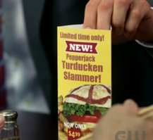 turducken slammer table pyramid