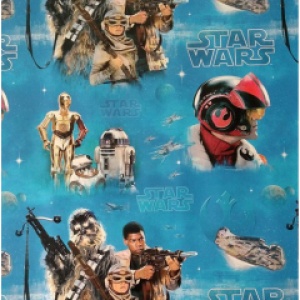 Classic Star Wars Wrapping Paper Movie Gift Wrap Roll