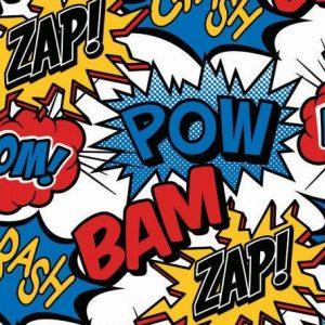 Comic Book Superhero Wrap