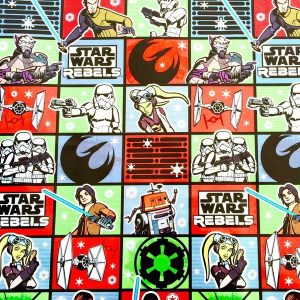 Disney Star Wars Rebels Birthday Gift Wrap