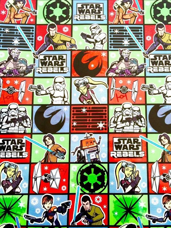Disney Star Wars Rebels Birthday Gift Wrap  sc 1 st  The Nifty Nerd & Disney Star Wars Rebels Birthday Gift Wrap - The Nifty Nerd