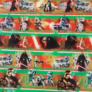 Disney Star Wars Villains Wrapping Paper