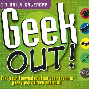 Geek Out daily calendar
