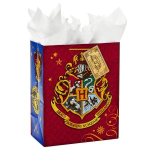 Harry Potter Hogwarts crest gift bag
