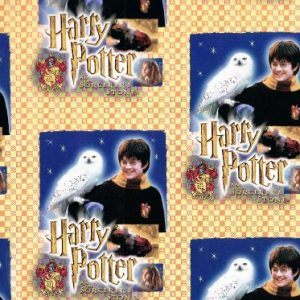 Harry Potter Wrapping Paper Roll