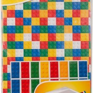 Lego brick wrapping paper